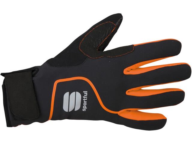 Sportful Sotto Zero Handschoenen, black/orange sdr